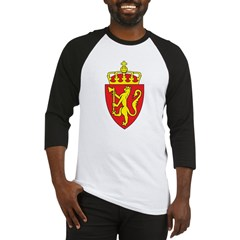 Norway Coat Of Arms Baseball Jersey