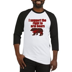 Right to arm bears Baseball Jersey