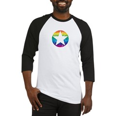 Rainbow Star Baseball Jersey