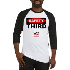 WWMM Safety Third Baseball Jersey