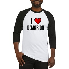 I LOVE DEMARION Baseball Jersey