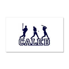 Baseball Caleb Personalized Car Magnet 20 x 12