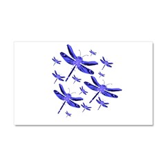 Dragonflies Car Magnet 20 x 12