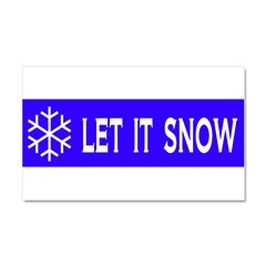 Think Snow Car Magnet 20 x 12