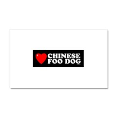 CHINESE FOO DOG Car Magnet 20 x 12