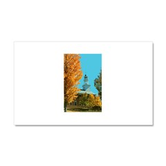 Vermont Country Church Car Magnet 20 x 12
