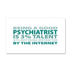 Good Psychiatrist Car Magnet 20 x 12
