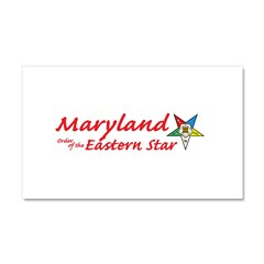 Maryland Eastern Star Car Magnet 20 x 12