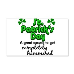St. Patrick's Day Car Magnet 20 x 12