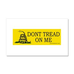 Dont tread on me Car Magnet 20 x 12
