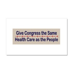 Give Congress Healthcare Car Magnet 20 x 12