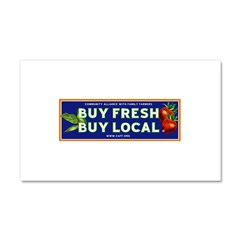 Buy Fresh Buy Local classic Car Magnet 20 x 12