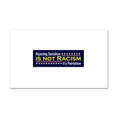Rejecting Socialism Car Magnet 20 x 12