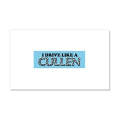 drive like a cullen remix Car Magnet 20 x 12