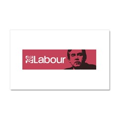 Gordon Brown Labour Party Car Magnet 20 x 12