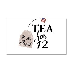 Vote Tea Party 2012 Car Magnet 20 x 12