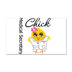 Medical Secretary Chic Car Magnet 20 x 12