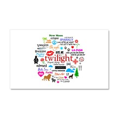 Twilight Memories Car Magnet 20 x 12