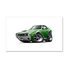 1970 AMX Green Car Car Magnet 20 x 12