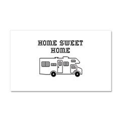 Home Sweet Home Mini Motorhome Car Magnet 20 x 12