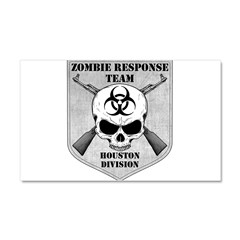 Zombie Response Team: Houston Division Car Magnet 20 x 12