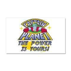 Captain Planet Power Car Magnet 20 x 12