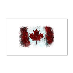 Canadian Graffiti Car Magnet 20 x 12