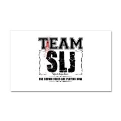 Team SLJ Car Magnet 20 x 12
