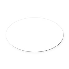 Norway (Flag, International) Oval Car Magnet