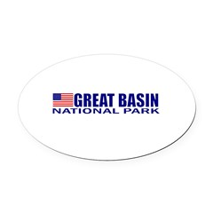 Great Basin National Park Oval Car Magnet