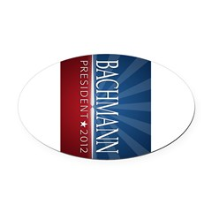 Bachmann - Ray of Hope Design Oval Car Magnet