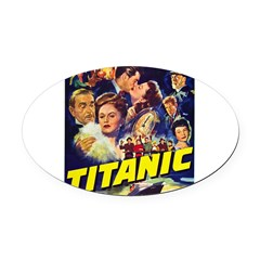 $9.99 Titanic Movie Oval Car Magnet