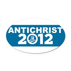 ANTICHRIST 2012 Oval Car Magnet