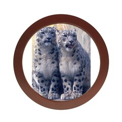 Twin Snow Leopard Cubs Jewelry Case