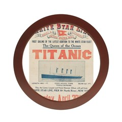 Titanic Advertising Card Jewelry Case