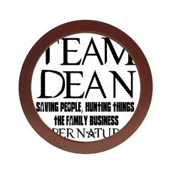 Team Dean Supernatural Winchester Jewelry Case