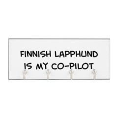 Co-pilot: Finnish Lapphund Key Hanger
