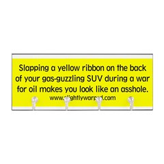 Yellow Ribbon Key Hanger