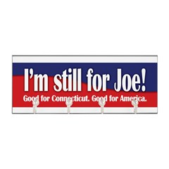 I'm still for Joe (Lieberman) Key Hanger