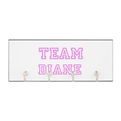 Pink team Diane Key Hanger