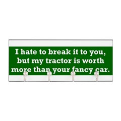 My tractor's worth... Key Hanger