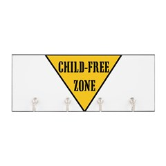 Child-Free Zone Key Hanger