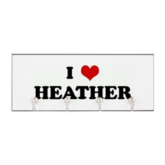 I Love HEATHER Key Hanger