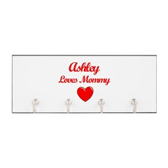 Ashley Loves Mommy Key Hanger