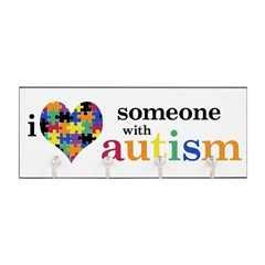 I HEART Someone with Autism - Key Hanger