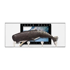 Sperm Whale Art Key Hanger