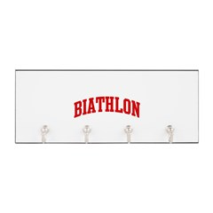 Biathlon (red curve) Key Hanger