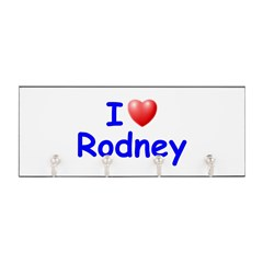 I Love Rodney (Blue) Key Hanger
