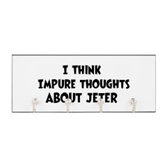 Jeter (impure thoughts} Key Hanger