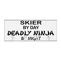 Skier Deadly Ninja Key Hanger